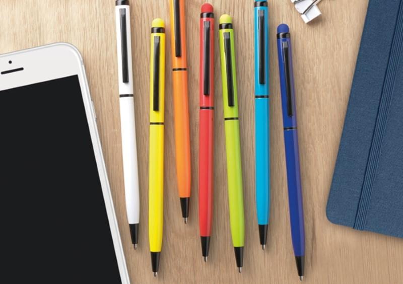 Рекламные подарки - шариковые ручки разных цветов